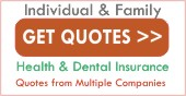 Get Instant  Individual and Family Quotes From Multiple Insurance Companies